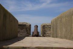 stary działo fort Zdjęcia Royalty Free