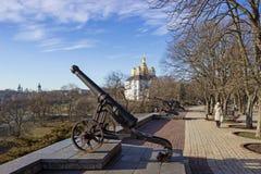 Stary działo w Chernihiv, Ukraina Obraz Royalty Free