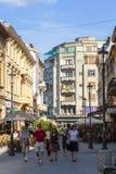 Stary dziejowy centrum Lipscani Fotografia Royalty Free