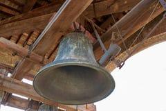 Stary dzwon w wierza Fotografia Stock