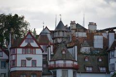 stary Edinburgh miasteczko Zdjęcia Stock