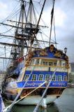 Stary żeglowanie statek Zdjęcie Royalty Free