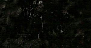 Stary ekranowy grunge na czarnego tła realistycznym migotaniu, analogowy rocznika TV sygnał z pionowo złą interferencją, statyczn royalty ilustracja