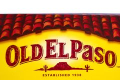 Stary El Paso Zdjęcie Stock