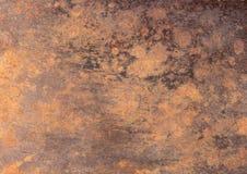 Stary żelazo talerz Zdjęcie Royalty Free