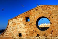 stary essaouira forteca Obrazy Royalty Free