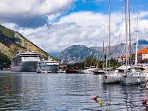 Stary Europa, Kotor zatoka Zdjęcia Stock