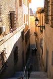 Stary Europejski miasteczko Zdjęcie Royalty Free