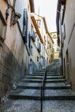 Stary Europejski miasteczko Zdjęcia Stock