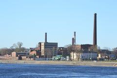 Stary fabryczny budynek, st Petersburg Zdjęcie Stock
