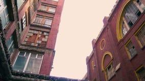 Stary fabryczny ceglany dom outside zdjęcie wideo