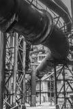 Stary fabryczny wybuchu piec Zdjęcia Royalty Free