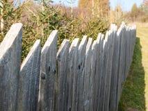Stary farmyard ogrodzenie Fotografia Royalty Free