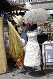stary fasonujący parasolkę obrazy stock