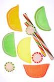 stary fasonujący słodycze kolorowe zdjęcia stock