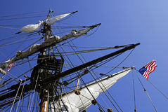 stary fasonujący wypłynięcia statku Zdjęcie Stock