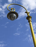 stary fasonujący lampion obrazy stock