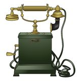 stary fasonujący telefon Fotografia Royalty Free