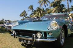 Stary Ferrari przodu uszeregowanie Obrazy Stock