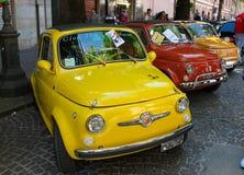 Stary Fiat 500 Obraz Royalty Free