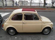 Stary Fiat 500 Zdjęcia Stock