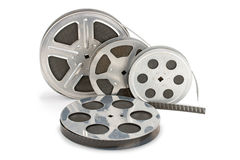 stary film pas Fotografia Stock