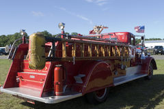 stary firetruck obraz royalty free
