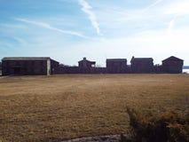 Stary fort Zdjęcia Stock