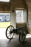 stary fort kanonu antykami Zdjęcia Royalty Free
