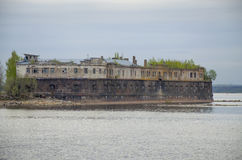 Stary fort Kronshlot w Kronstadt Rosja Obrazy Royalty Free