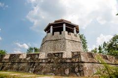 Stary forteca Zdjęcie Stock