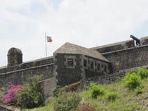 Stary forteca mógł mówić możne bitwy Fotografia Royalty Free