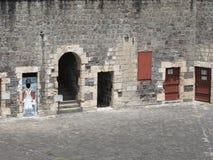 Stary forteca mógł mówić możne bitwy Obraz Stock