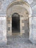 Stary forteca mógł mówić możne bitwy Zdjęcia Stock