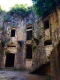 Stary forteca na wyspie Mamula Montenegro fotografia royalty free