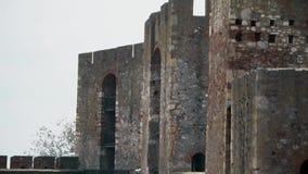 Stary forteca od wieków średnich zbiory wideo