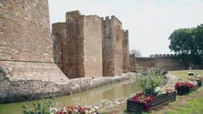 Stary forteca od wieków średnich, strażowa kopuła zbiory