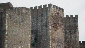 Stary forteca od wieków średnich, wieża obserwacyjna zdjęcie wideo