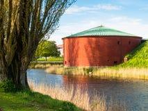 Stary forteca w Malmo, Szwecja zdjęcia royalty free