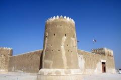 Stary forteca z wysokimi murami fotografia royalty free