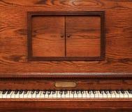 stary fortepianowy drewniany Fotografia Royalty Free