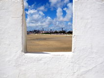 Stary fortu widok, Natal miasta RN fort, Brazylia Zdjęcia Royalty Free