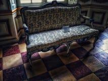 stary fotel obrazy stock