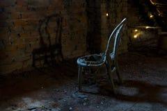 stary fotel Fotografia Stock