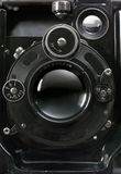 stary fotograficznego kamery Zdjęcie Stock