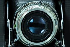 Stary fotografii kamery obiektywu zbliżenie Fotografia Royalty Free