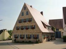 stary Franconian dom Zdjęcia Royalty Free