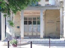 Stary Francuski sklep Zdjęcie Royalty Free