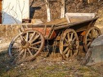 Stary furgon i łódź Zdjęcia Royalty Free
