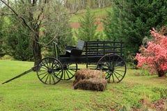 Stary 1900 furgon w północny Gruzja Zdjęcie Royalty Free